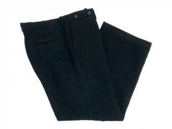 TOUJOURS Waist Overalls BLACK 【TM25PP03】
