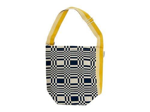 JOHANNA GULLICHSEN Tetra Shoulder Bag Doris DARK BLUE