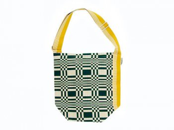 JOHANNA GULLICHSEN Tetra Shoulder Bag Doris DARK GREEN