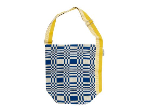 JOHANNA GULLICHSEN Tetra Shoulder Bag Doris BLUE