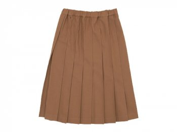 Charpentier de Vaisseau Pleated Skirt Wool BEIGE