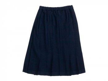 Charpentier de Vaisseau Belle Pleated Skirt Wool