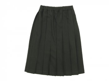 Charpentier de Vaisseau Pleated Skirt Wool OLIVE