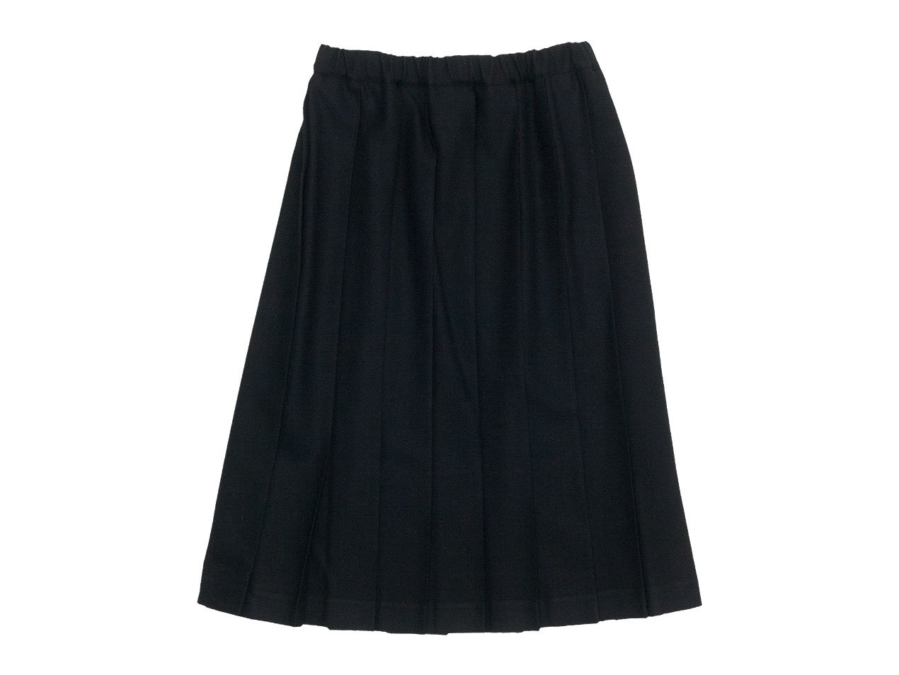 Charpentier de Vaisseau Pleated Skirt Wool BLACK