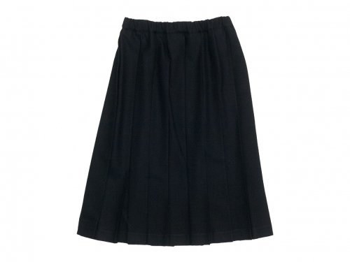 Charpentier de Vaisseau Belle Pleated Skirt Wool BLACK