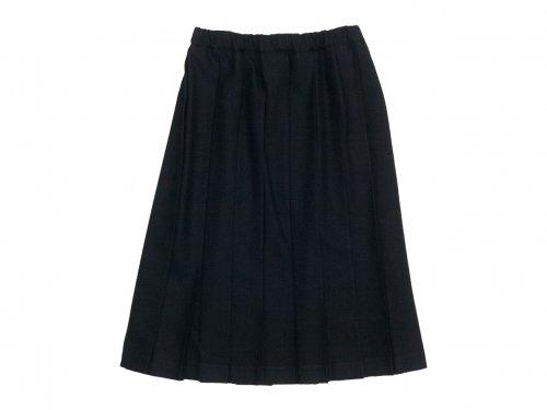Charpentier de Vaisseau Belle プリーツスカート Wool BLACK