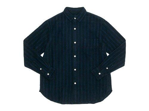 maillot nel stripe regular shirts BLACK