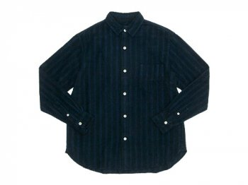 maillot nel stripe regular shirts BLACK