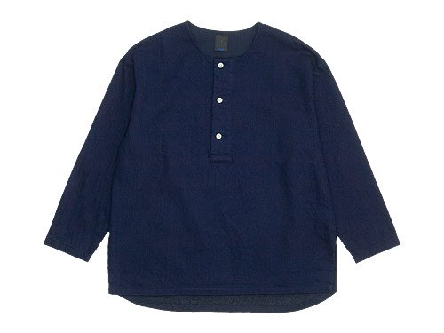 maillot C/W denim big smock INDIGO
