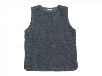maillot melton U neck vest GRAY