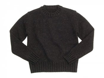 Lin francais d'antan Lemay Crew Neck Knit BROWN