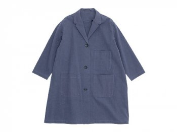 Lin francais d'antan Godard Cotton Coat GRAY