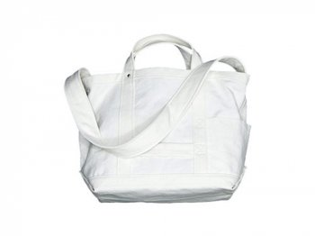 YAECA TOOL BAG SMALL cotton WHITE