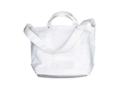 YAECA TOOL BAG SMALL cotton nylon WHITE