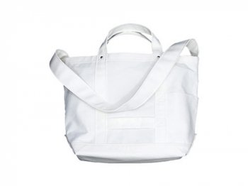 YAECA ツールバッグ SMALL cotton nylon WHITE 【169101】
