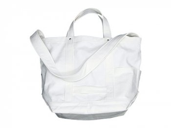 YAECA TOOL BAG LARGE cotton WHITE