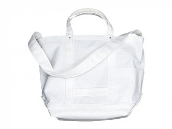 YAECA TOOL BAG LARGE cotton nylon WHITE
