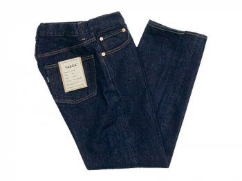 YAECA DENIM PANTS STRAIGHT 14W INDIGO 〔レディース〕