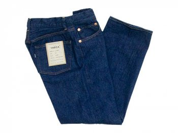 YAECA DENIM PANTS STRAIGHT 13WW INDIGO 〔レディース〕