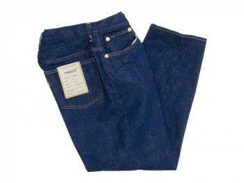 YAECA DENIM PANTS WIDE TAPERED 13WW INDIGO 〔レディース〕