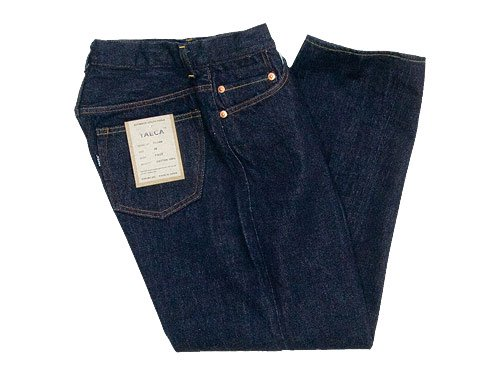 YAECA DENIM PANTS WIDE STRAIGHT 14W INDIGO 〔レディース〕