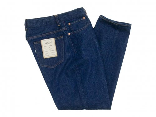 YAECA DENIM PANTS WIDE TAPERED 13WW INDIGO 〔メンズ〕