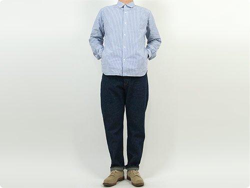 YAECA デニム ワイドテーパード 10-11W 〔メンズ〕