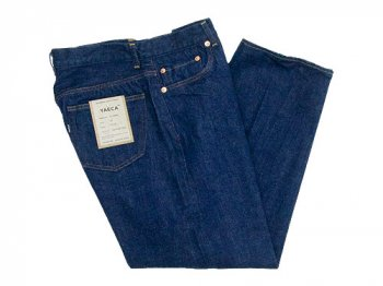 YAECA DENIM PANTS WIDE STRAIGHT 13WW INDIGO 〔メンズ〕