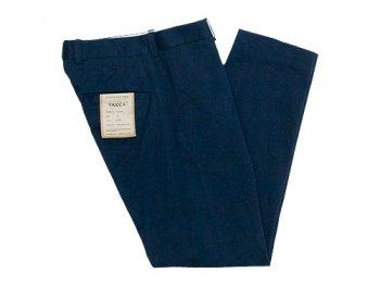 YAECA CHINO CLOTH PANTS STANDARD NAVY〔メンズ〕