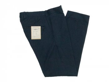 YAECA CHINO CLOTH PANTS STANDARD BLACK〔メンズ〕