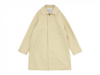 YAECA SOUTIEN COLLAR COAT SHORT BEIGE 〔レディース〕