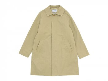 YAECA SOUTIEN COLLAR COAT SHORT KHAKI 〔レディース〕