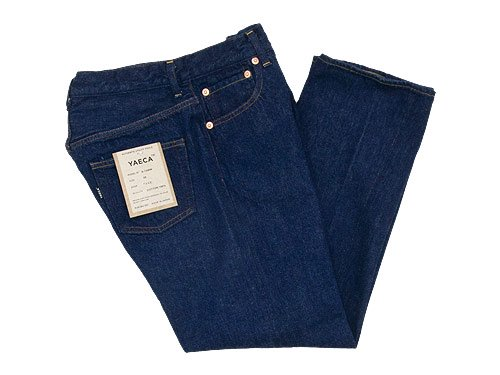YAECA DENIM PANTS SLIM TAPERED 13WW INDIGO 〔レディース〕