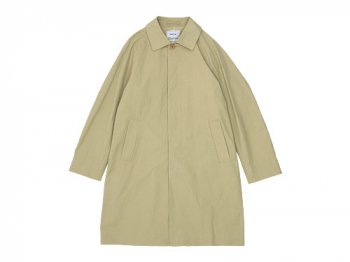 YAECA SOUTIEN COLLAR COAT SHORT KHAKI 〔メンズ〕