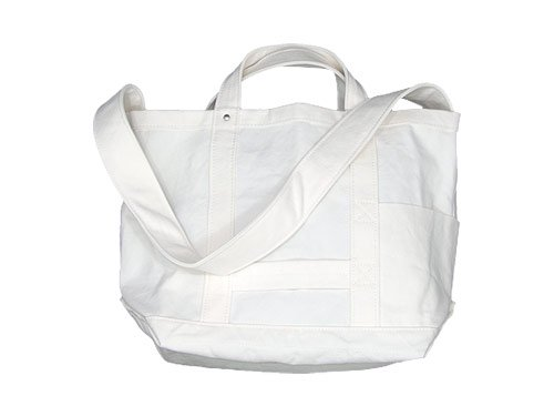 YAECA TOOL BAG MEDIUM cotton WHITE