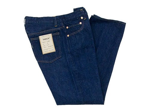 YAECA DENIM PANTS STRAIGHT 13WW INDIGO 〔メンズ〕