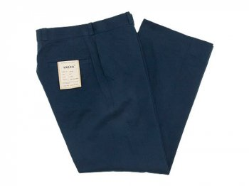 YAECA CHINO CLOTH PANTS STRAIGHT NAVY 〔メンズ〕