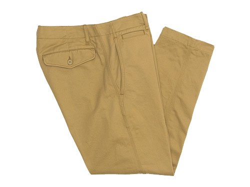 ������� ordinary fits Bare Foot Trouser BEIGE