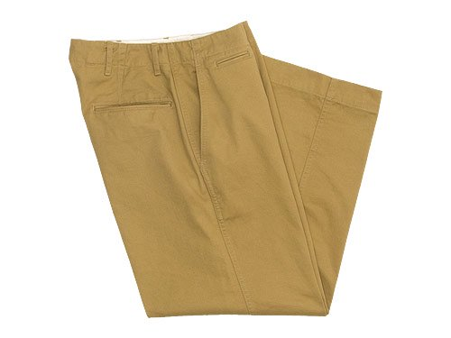 ������� ordinary fits Wide Chino Pants BEIGE