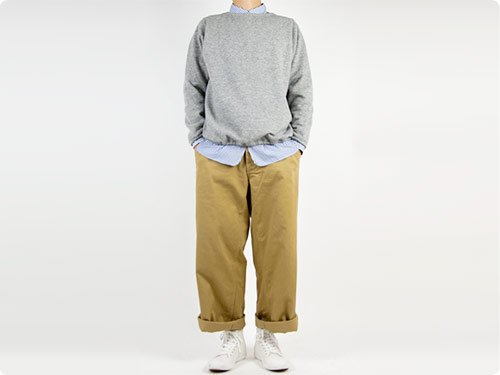 【別注】 ordinary fits Wide Chino Pants BEIGE