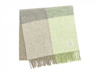 Studio Donegal TWEED MUFFLER LIGHT GRAY C