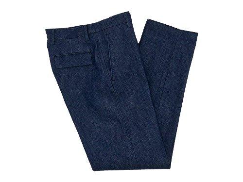 TUKI trousers 01INDIGO