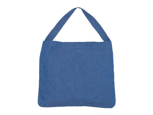 maillot dungaree shoulder bag INDIGO