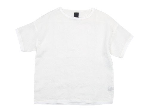 maillot linen shirts Tee WHITE