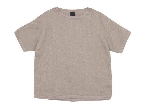 maillot linen shirts Tee BEIGE