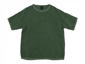 maillot linen shirts Tee OLIVE