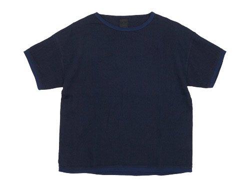 maillot linen shirts Tee NAVY