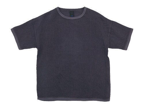 maillot linen shirts Tee CHARCOAL