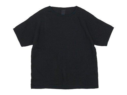 maillot linen shirts Tee BLACK