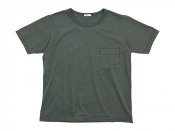 maillot super cotton pocket Tee OLIVE